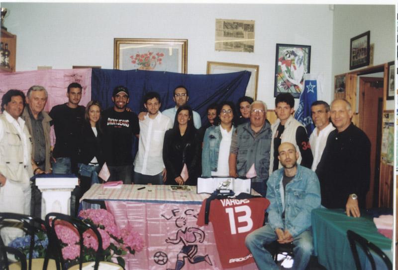 2004 Foto di gruppo Leone Argento Vargas