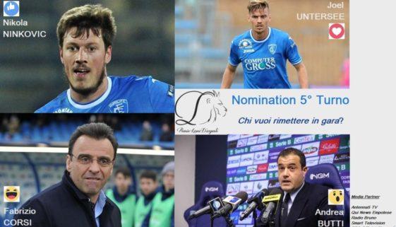 Nomination 5 Turno 2018