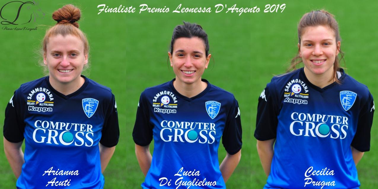 Finaliste Premio Leonessa d'Argento 2019