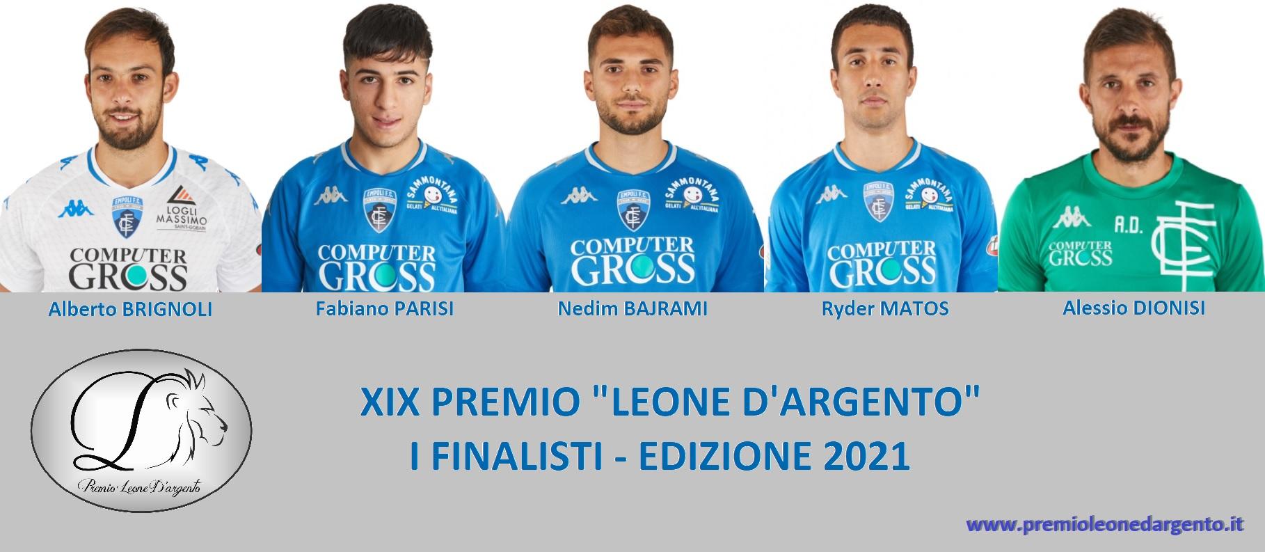 Copertina Finalisti Leone d'Argento 2021